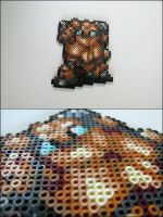 Chrono Trigger Robo (battle pose) bead sprite by 8bitcraft