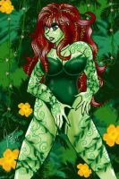Posion Ivy Love by theIronArtist