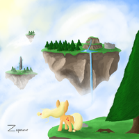 Great Big Sky by zaponator