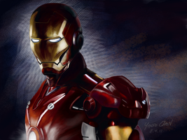 Ironman by hackapaint