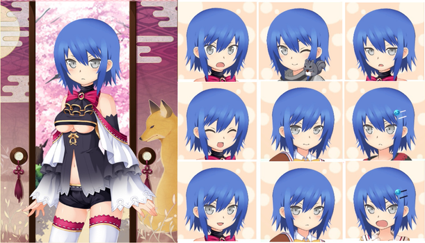 Myroid: Kai Expressions by Hectorcotto97