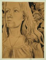 Self Portrait in Charcoal by Reflection-Of-Roses