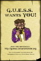 G.U.E.S.S. Recruitment: Uncle Sammy by Caileanmor