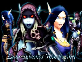 Lady Sylvanas Windrunner by sylvy106