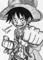 Monkey D. Luffy by Constanza-Chan14