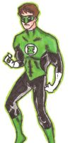 Green Lantern by Mbecks14