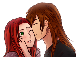 PC - Kenneth and Sawyer by Sealkittyy