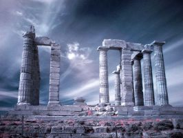 Temple of Poseidon by Tadobi