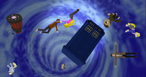 Tardis + DL by Valforwing