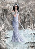 Winter herself by 00Maria00