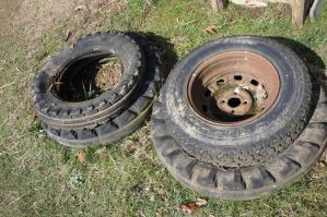 Tractor tires by Mecarion