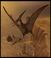PTERANODON -Dino Art- by wallace
