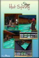 MMD|Stage| Hot Spring /PMX/ by Yoshi-Akira
