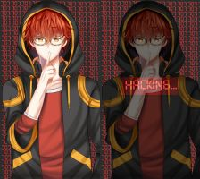 Mystic Messenger - Luciel (707) Wallpaper by Himawari112