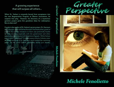 Greater Perspective full book cover by Cre8NStuff