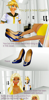 MMD COMIC new closet by chatterHEAD