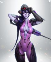 Widowmaker FanArt Zeronis 02 by Zeronis