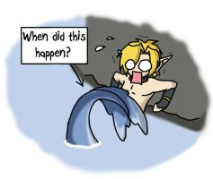 Merman Link Gag by Humanoid-Magpie