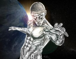 Silver Surfer ME by adambomb7