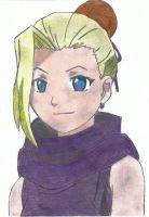 Ino Yamanaka colored by YunaAnnie