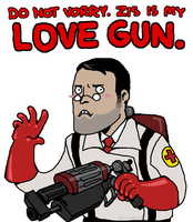 ZIS IS MY LOVE GUN. by Jackarais