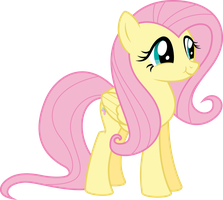 [cuteness intensifies] Fluttershy by twls7551