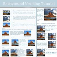 Background Blending Tutorial by Teodora-Chinde