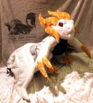 Mikhail Custom Plush - Drakengard 3 - Commission by Forge-Your-Fantasy