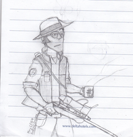 Another Sniper sketch by Typical-Mental