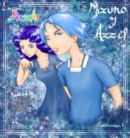 Mizuno and Azzel by nisaza