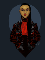 Punk Uhura by teaofrage