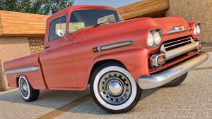 1958 Chevrolet Apache Pickup by SamCurry