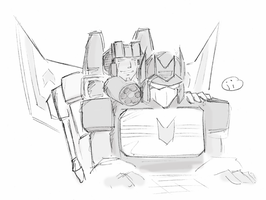 starscream x soundwave by iiskaa