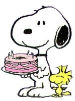 Snoopy-birthday by recycledrelatives