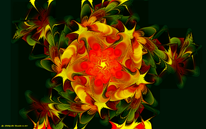 Fractal Abstract December 15, 2011 Three by Hillbillygirl