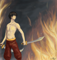 Art Trade--Zuko by TheCuttlefishCaptain