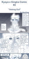 Kyoya x Gingka Comic #2: Asking Out by WonChan108