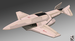 Stealth Drone Bomber by Legato895