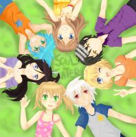 SE: Soul Eater's friends by TiiteMiissdu69