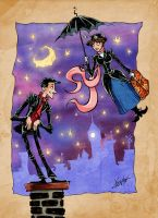 Mary Poppins by MrDinks