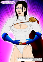 Violet is Power Girl (Close-Up) by BlackSandrock10