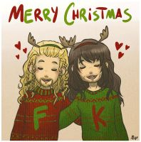 Merry Christmas from Fili and Kili by AlyTheKitten