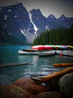 All the Colors of the Canoes by bbisme