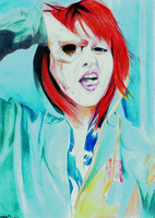 Hayley Williams by Mapos