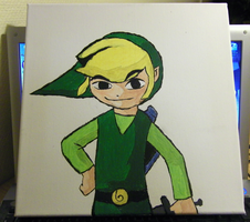 Wind Waker Link by Ruuma
