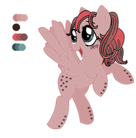 MLP OC: Starry Dawn - Reference. by Balance-Song