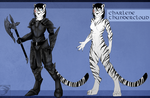 Ref Sheet Comish - Charlie by TwilightSaint