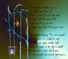 Fountain Poem by SpiderTech