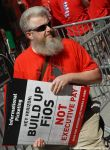 CWA Rally For A Fair Contract by TAGFoto
