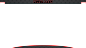 Krimson Shadow Overlay by overlaystwitch
